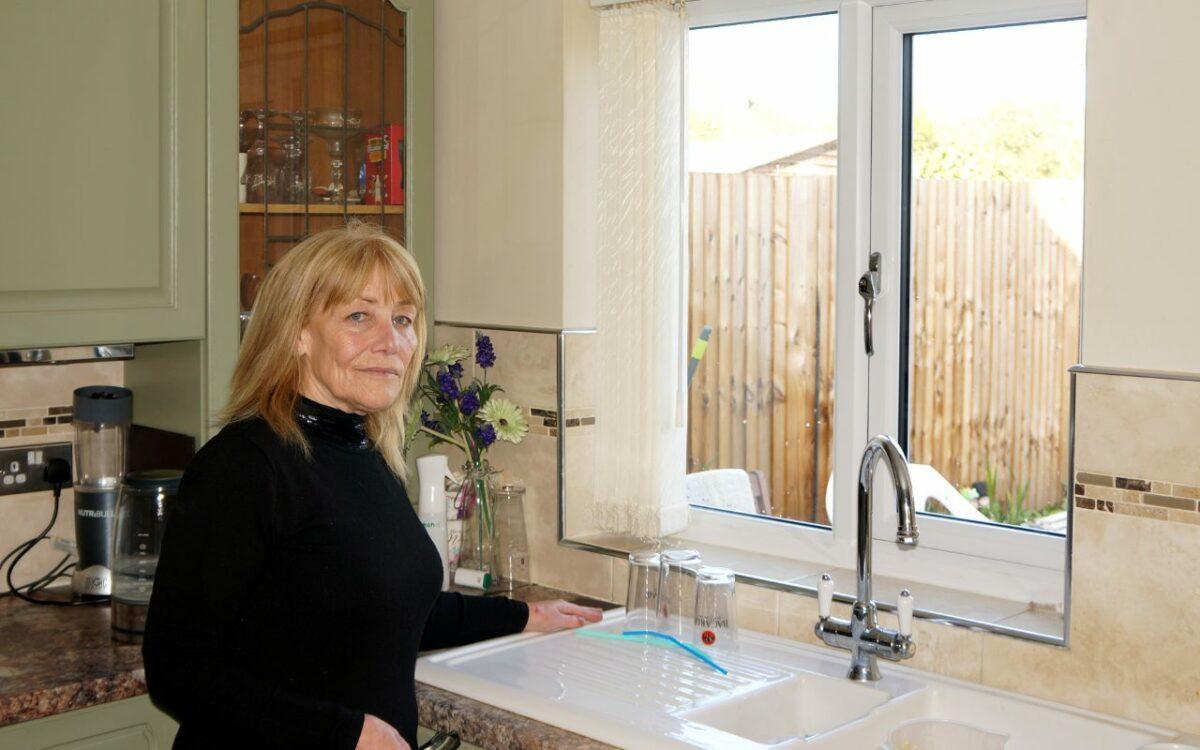 Help to buy windows grant customer Sandra Reed