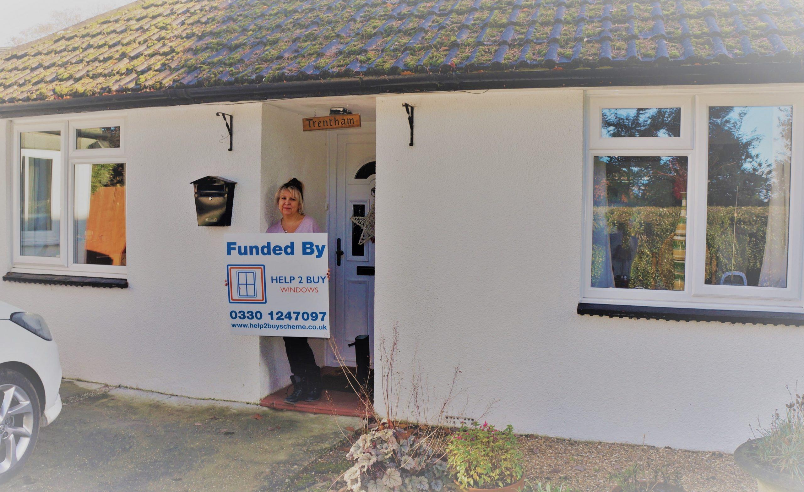 Help to buy windows Gail Moorey
